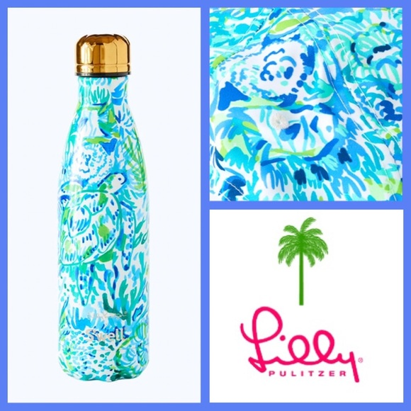 088e6b0740 Lilly Pulitzer Other | Nwt Swell Bottle Race To The Waves | Poshmark